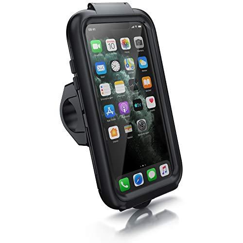CSL - Fahrradhalterung kompatibel für Apple iPhone 11 Pro - Fahrrad Case Tasche spritzwasserdichte - Handy Smartphone-Halterung - optimal geeignet für Bike Navigation