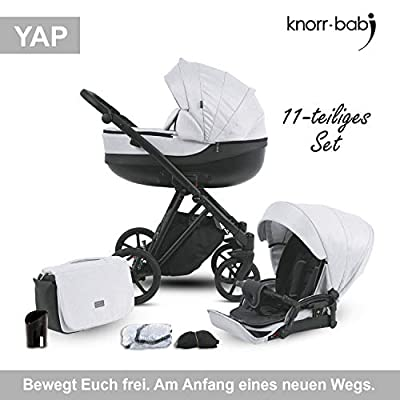 Knorr-baby 2420-05 YAP - Cochecito combi, color gris