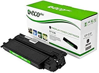 ECOPLUS Re-manufactured Toner Cartridge Replacement for Canon E40, Black, 4K Yield