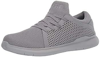 Propét Men s Viator DualKnit Sneaker Grey 16
