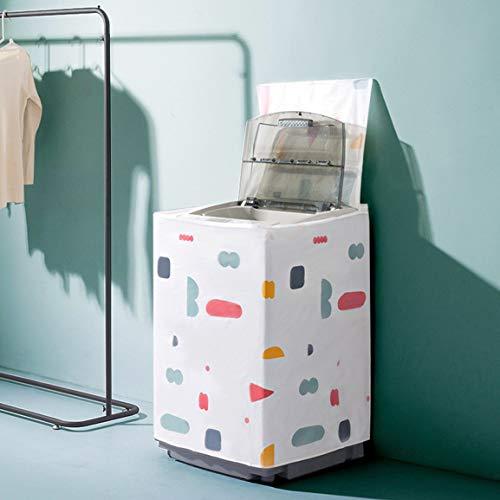 Machine à laver Housse anti-poussière Impression PEVA Écran solaire Boîtier étanche Machine à laver Housse de protection
