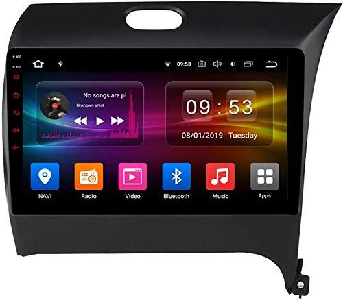 Car Stereo Android 10.0 Radio Head Unit compatible Kia Cerato 3 K3 2013-2020 Navegación GPS 9 pulgadas HD Pantalla táctil Reproductor multimedia MP5 Receptor de video con WiFi SWC Mirrorlink Car In-D