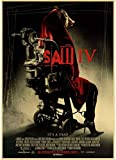 HANJIANGXUE Canvas Posters Saw Classic Horror Film Posters