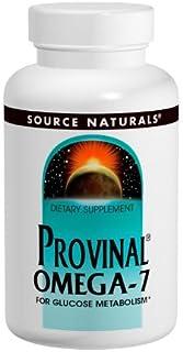 Source Naturals Provinal Omega-7 for Glucose Metabolism, 90-Softgels