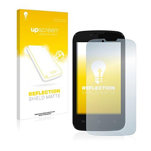 upscreen Entspiegelungs-Schutzfolie kompatibel mit Kazam Trooper 2 (4.0) – Anti-Reflex Bildschirmschutz-Folie Matt