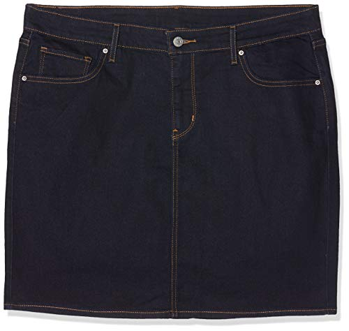 Levi's Damen New Workwear Skirt Rock, Blau (Darkest Sky 1), 40 (Herstellergröße: 32)
