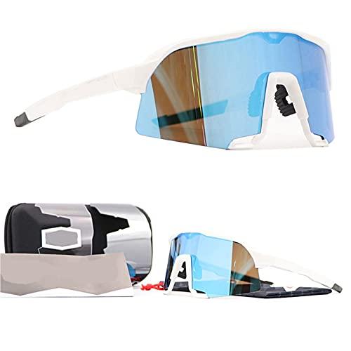 CYYS Gafas de Sol Deportivas polarizadas, Gafas de Sol Deportivas Anti-ultravioletas para Hombres y Mujeres, adecuados para Deportes al Aire Libre