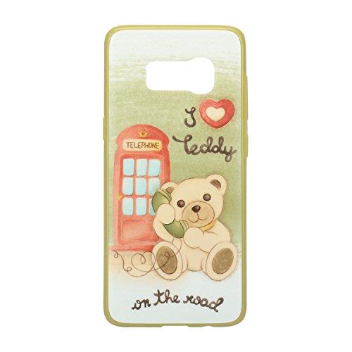 THUN ® - Cover per Samsung® S8 - Linea Teddy on The Road