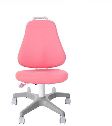 Huifang Corrective chair QFFL jiaozhengyi Korrekturstuhl Liftable Sitzhaltung Korrektur Stuhl Lernen Stuhl Home Computer Schreibtisch Stuhl 2 Farben Optional (Farbe   Rosa, Größe   2 )