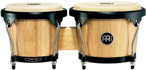 Meinl Percussion HB100NT Wood Bongo-Set, Headliner Series, Durchmesser 17,15 cm (6,75 Zoll) Macho / 20,32 cm (8 Zoll) Hembra, natural