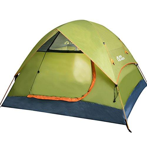 T/g/y/h Y/w/p/e Tente Ultra-légère de randonnée en Plein air, Tente imperméable Respirante Occasionnelle de Sac à Dos de Double Sac à Dos Respirant approprié à 3-4 Personnes