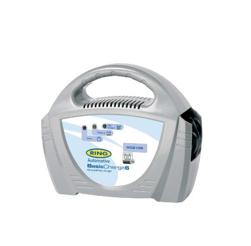 ring RECB106 Cargador de batería para vehículos - Cargadores de baterías para vehículos