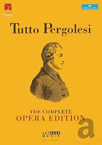 Tutto Pergolesi - The complete Opera Edition [12 DVDs]