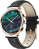 CNZZY SD-1 Smart Watch Orologio da donna con contapassi e monitoraggio del sonno con cardiofrequenzimetro e monitoraggio del sonno per iOS Android Smart Watch (G)