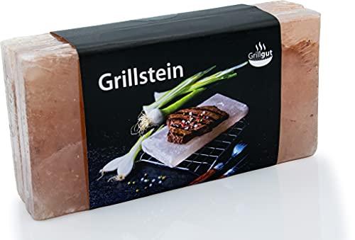 Premium BBQ Salz Grillsteine 2 Stück,...