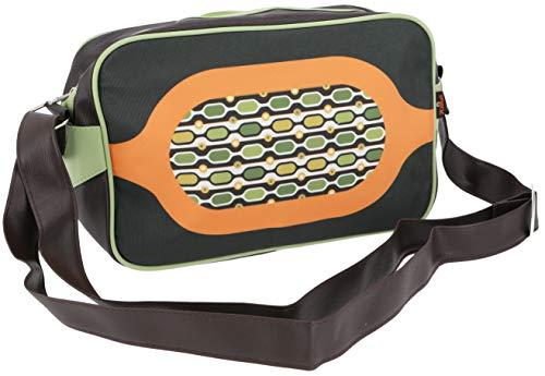 Guru-Shop Kleine Retro Schultertasche, Herren/Damen, Mehrfarbig, Synthetisch, Size:One Size, 20x30x8 cm, Tragetasche, Umgängetasche