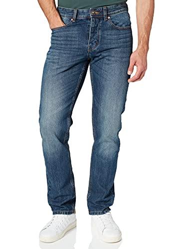 United Colors of Benetton Pantalone 4AW757B88 Pantaln, Denim Blue 901, 38 cm para Hombre
