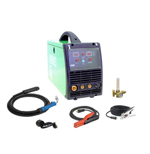 2021 Everlast PowerMIG 200 MIG Stick 200amp welder dual voltage 110v/220v spool gun...