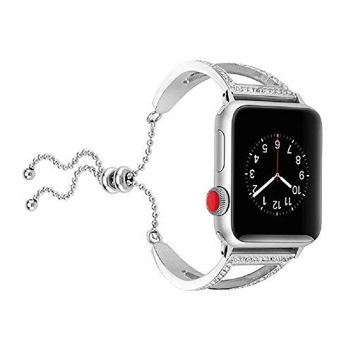 Beidifa Für Apple iWatch Armband Uhrenarmband aus 38mm /42mm V Edelstahl Ersatzriemen für Armbänder für die Apple Watch Sport & Edition Serie 4 3
