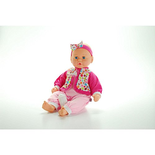 Air Baby - Unbelievably Soft 19 inch Baby Doll - Pink and Blue Plaid