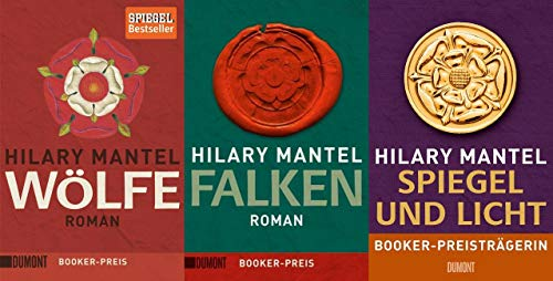 Die Tudor-Trilogie von Hilary Mantel + 1 exklusives Postkartenset