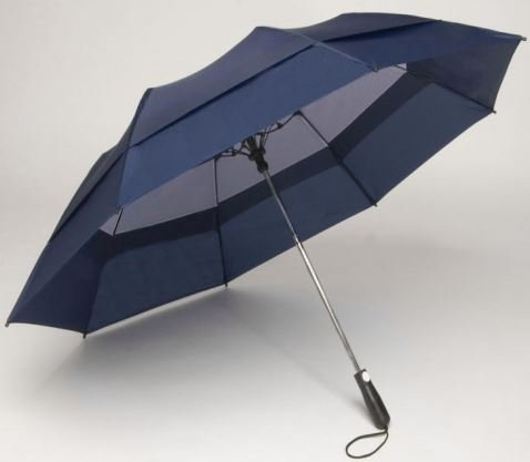 Windbrella Products Corp. 58-inch Georgetown Folder Plus Umbrella - Navy 40458NA