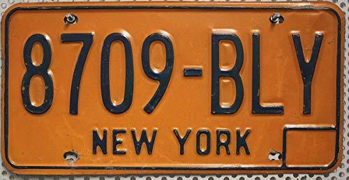 USA Nummernschild NEW YORK / Kennzeichen US License Plate / Metallschild