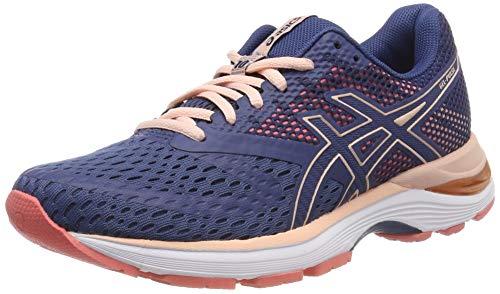 Asics Gel-Pulse 10, Zapatillas de Running para Mujer, Azul (Grand Shark/Bakedpink 402), 38 EU