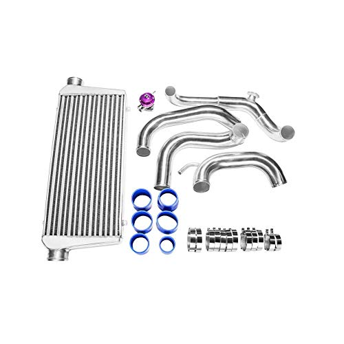 CXRacing Front Mount Intercooler Kit For 89-99 Nissan 240SX S13 S14 or S15 Chassis with S13 SR20DET