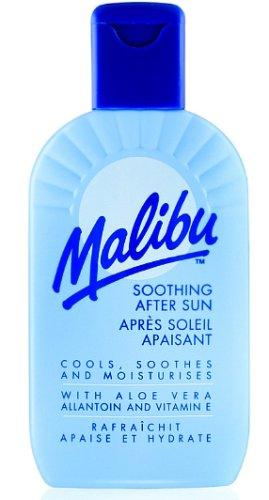 Malibu - Loción relajante para después del sol con aloe vera,200ml