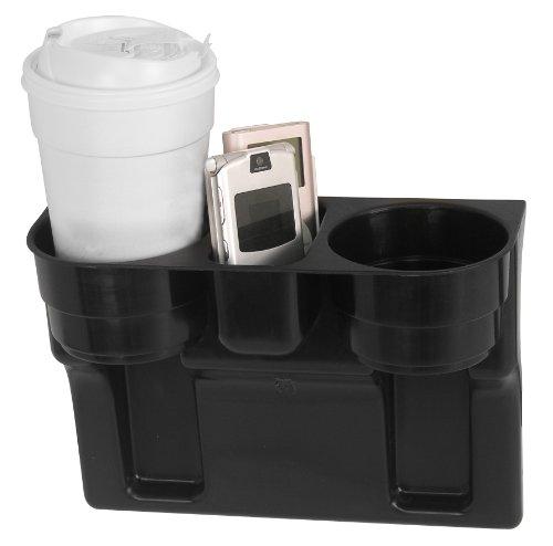Custom Accessories Black Seat Wedge Cup Holder