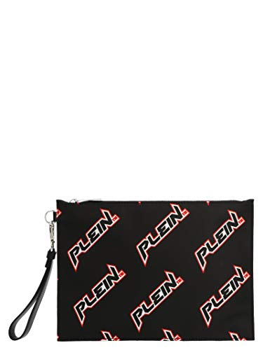 Philipp Plein Luxury Fashion Hombre MBB0101PLE096N02 Negro Clutch   Otoño-Invierno 19