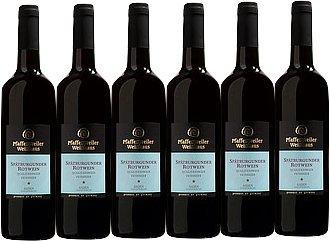 Pfaffenweiler Weinhaus Klassik Spätburgunder Rotwein Qualitätswein feinherb (6 x 0,75L)