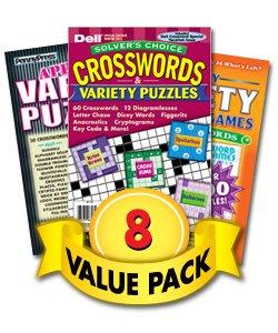 Crossword & Variety Jumbo Value Pack-8 Pack