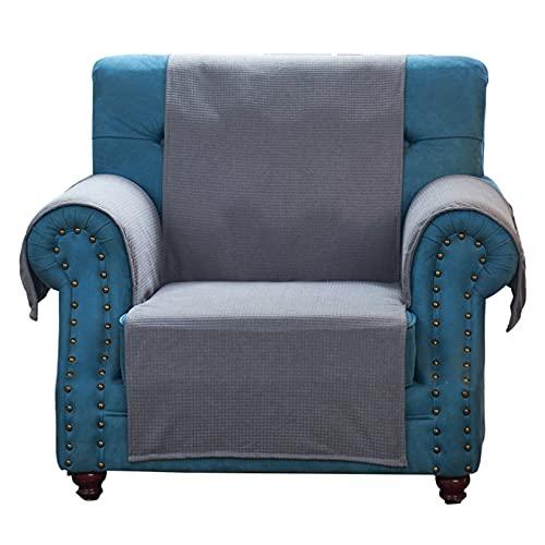 Funda De Sofá De Forro Polar Polar Fundas De Sofá De Color Sólido para Sala De Estar Antideslizante Lavable Extraíble Sofá Funda De Sofá Protector De Muebles