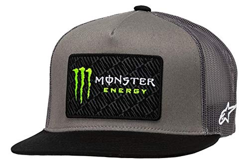 Alpinestars Trucker Cap Monster Champ Grau