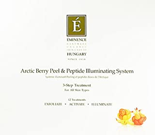 Eminence Peel and Peptide Illuminating System: 3 Products Arctic Berry New Fresh Product
