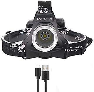 40000lm Xhp70 Headlight Super Bright Led Headlamp USB Charging Lantern Hunting Camping
