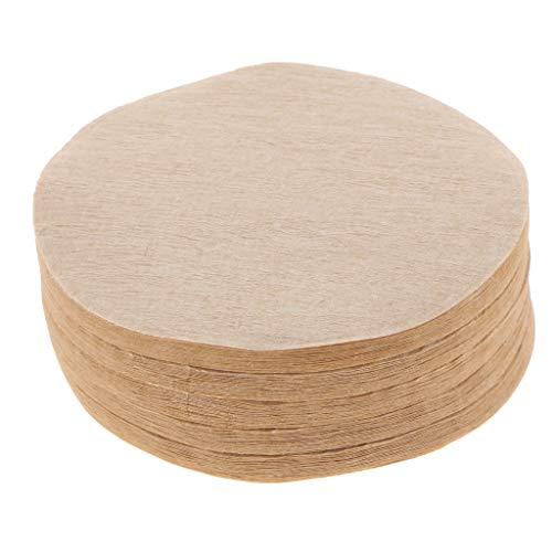 100x Kaffeefilterpapier Home Kitchen Wegwerf Filterpapier Für Lab Filtration
