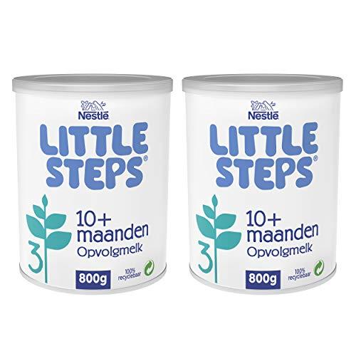 Little Steps 3 Opvolgmelk Standaard 10+ maanden - 2 blikken van 800 gram