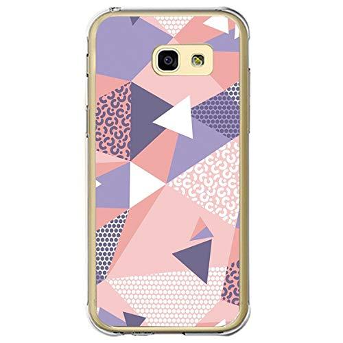 Case Kompatibel mit Samsung Galaxy A7 2017 hülle Ultradünn Weich Silica Gel Schutzhülle Transparent Marmor Muster Handyhülle Shockproof Silicone case Anti-Gelb Silikon Cover (4)