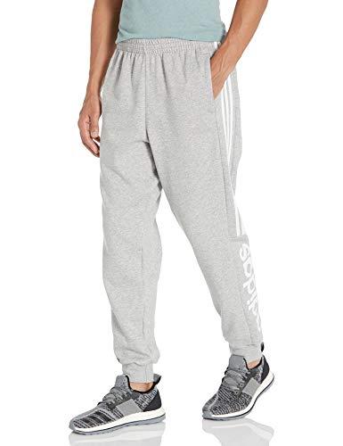 adidas Essentials Pantalones de Color Block para Hombre, Hombre, Pantalones, IXW58, Gris, XXL Tall