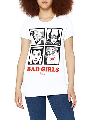 Disney - FBLTS274L - T-Shirt Femme -Blanc (Blanc Blanc)- M