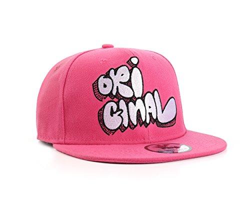 Inconnu Original Rose Casquette Réglable (Pink Snapback Cap)