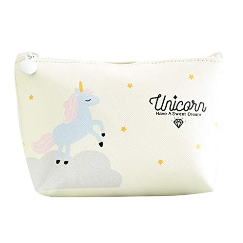 Lovemay Licorne Maquillage Sac PU Maquillage Femmes Mode Professionnel Accessoires de Maquillage PU 17 cm * 12 cm