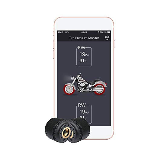 3T6B Motorcycle Bluetooth TPMS Tire Pressure Monitoring System