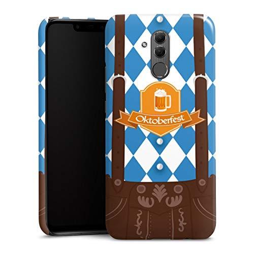 DeinDesign Premium Case kompatibel mit Huawei Mate 20 Lite Hülle Handyhülle Bier Feiern Lederhose