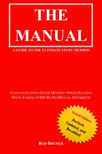 Price comparison product image The Manual: A Guide to the Ultimate Study Method (USM)