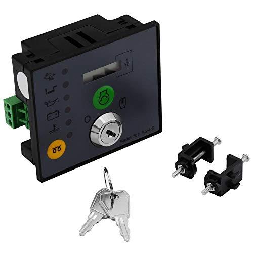 Controlador de generador de arranque manual Controlador de grupo electrógeno Panel de tablero MS con llaves