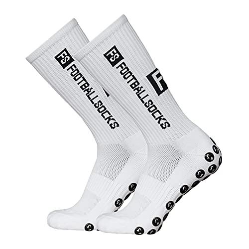 Lixada Fußballsocken Kinder Herren Stutzen Stutzenstrumpf,Unisex Outdoor-Sport-Laufsocken Kompressionsstretch-Socken Sportliche Fußball-Fußball-Socken Anti-Rutsch-Socken mit Handgriffen,1 Paar